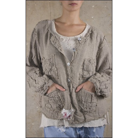 jacket Willie Mae in Natural