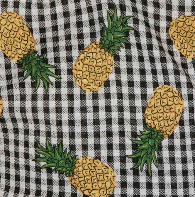 Gingham and Pineapple