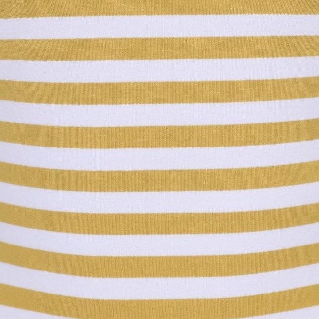 Mustard striped